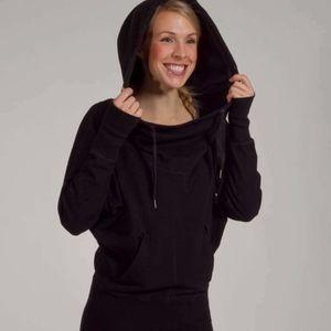 Lululemon Flashback Pullover Hoodie Oversized Blac
